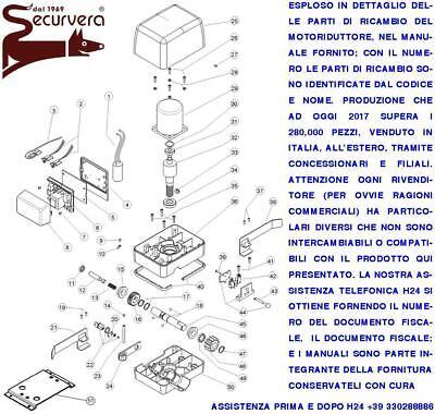 Centrale Cancello Scorrevole Per Motori 220 V 550 W Beninca Came 4 Radiocomandi Eur 118 00 Picclick It