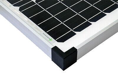 50Watt 12 Volt Solar Set Solaranlage Inselanlage Garten Camping Solarmodul 3