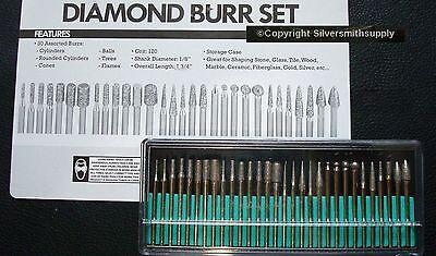 30 Schmuck Herstellung Werkzeug Diamant Bohrmeißel und Shaping Spitzen 120 Med 2