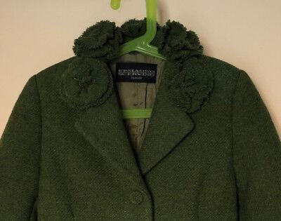 Ermanno Scervino Junior 3 Bottoni Cappotto Coat 6 Anni 4