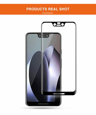 3D Full Coverage Tempered Glass Screen Protector For Google Pixel 2 3 XL 2XL 3XL 6