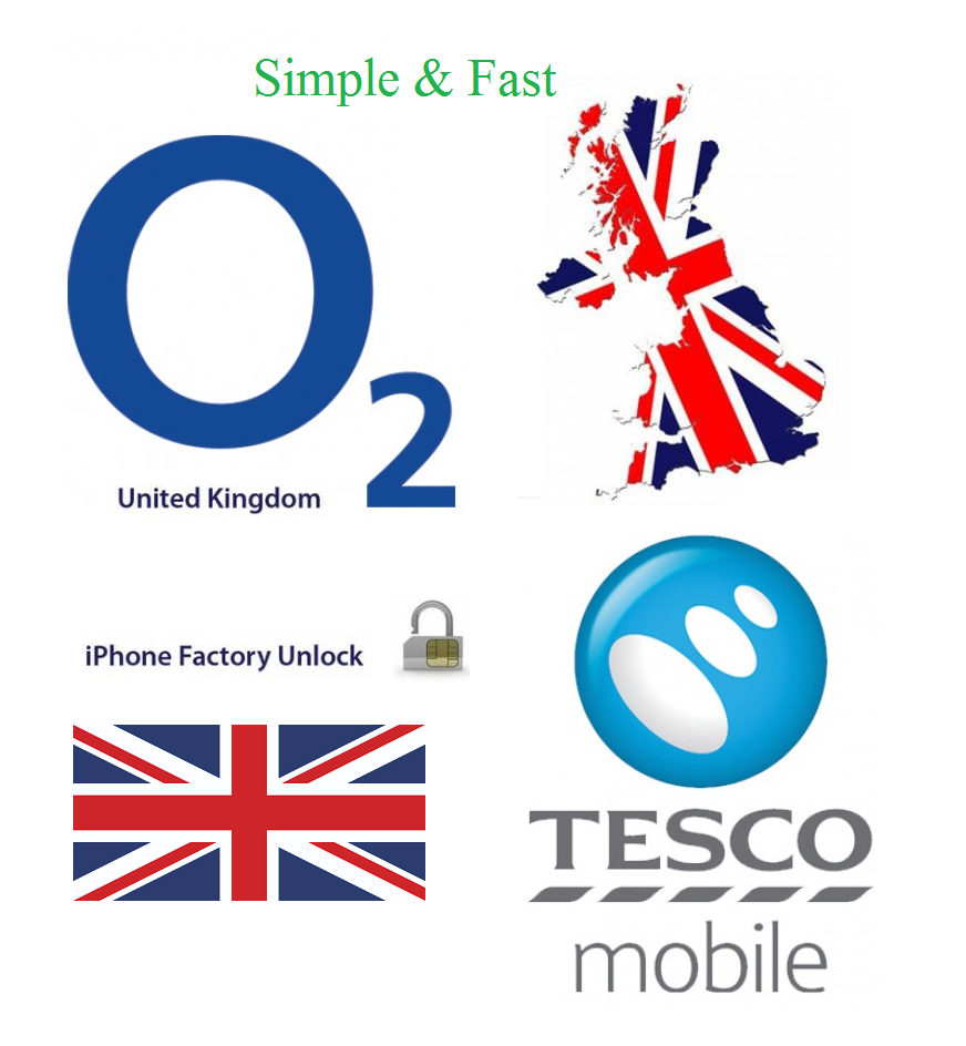 O2 Tesco Unlock Service Factory unlocking iPhone X 8 8 Plus 7 7 Plus 6s 6s Plus 3