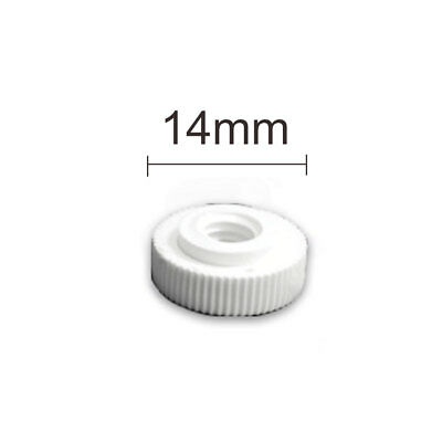 40mm Thumb Screw Clear Suction Cups White Nut Rubber Window Suckers (CHEAPEST!!)