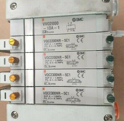 Smc Ex600-Sen1 W/ X2 Ex600-Dxpc1 W/ X4 Vqc220Nr-5C1 W/ Vvq2000-10A-1  (R5S6.4) 3