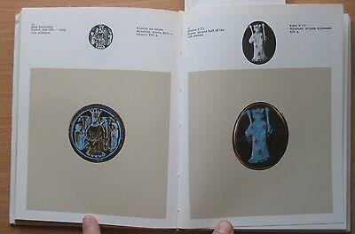Russian Book Antique Cameo Art Old Miniature Portrait Stone Vintage European VTG 2