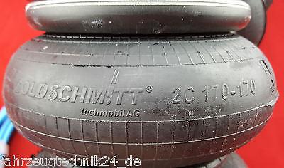 Luftfeder Fiat Ducato Zusatzluftfeder Wohnmobil Reisemobil mit Kompressor