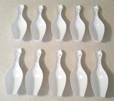 Williams & United Shuffle Alley Bowler Blank Bowling Pin Set Of 10 Free Shipping 2