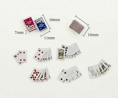 1//6 scale Poker Playing Cards for Joker stage property Hot toys Phicen US Seller