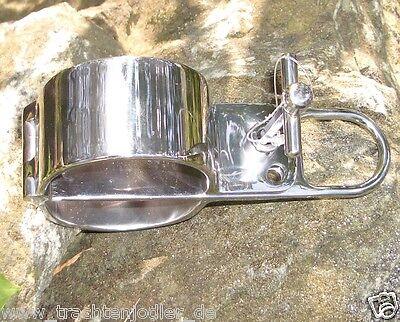 Handschellen boundshop KUB KB 130 Gr. S, L, XL (NEU) stainless steel handcuff 3