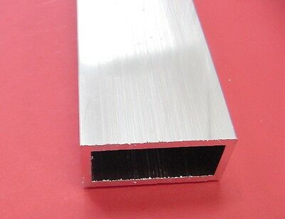 "2 Pieces 1""x 2""x 1/8"" Wall ALUMINUM RECTANGLE TUBE 6063 T52 x 10"" Long .125"" W 2"