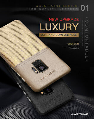 Fits Samsung Galaxy Luxury Leather Ultra-Thin Slim Hard Protective Case Cover 7