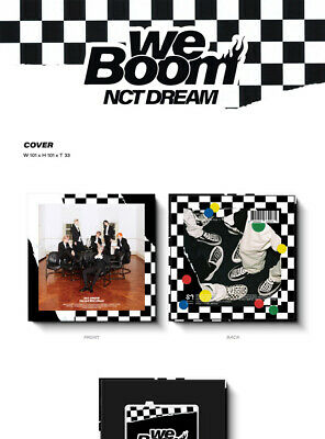 NCT DREAM [WE BOOM] 3rd Mini Kihno Album Kit+POSTER+2ea Folding Photo+Card+GIFT 7