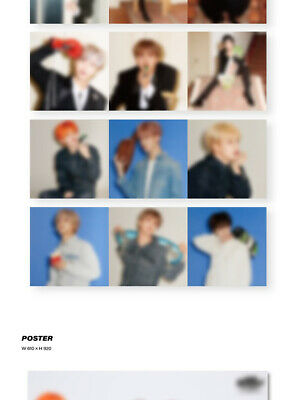 NCT DREAM [WE BOOM] 3rd Mini Kihno Album Kit+POSTER+2ea Folding Photo+Card+GIFT 9