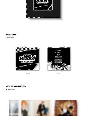 NCT DREAM [WE BOOM] 3rd Mini Kihno Album Kit+POSTER+2ea Folding Photo+Card+GIFT 8