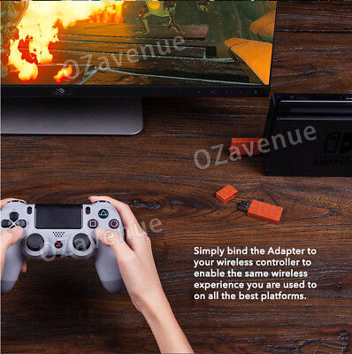 8Bitdo Wireless Bluetooth Receiver USB Converter For Nintendo Switch Adapter AU 4