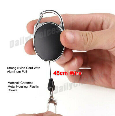 Retractable Lanyard ID, Card Holder, Business Badges, Security Pass EOFY 4