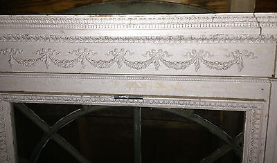 Antique Newport Rhode Island Fireplace Mantel w Figural Designs Hope & Charity 4
