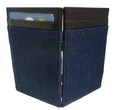 J CREW  INSIDE OUT MAGIC WALLET PATCHWORK FABRIC WITH LEATHER TRIM NWT