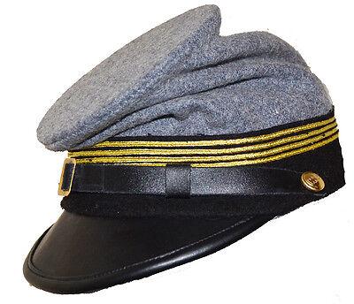 American Civil War Gettysburg Union Lt Colonels Forage Cap Large 58//59cms
