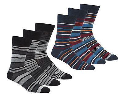 Pierre Roche Mens Comfort Fit Socks Pack Of 3 MB549