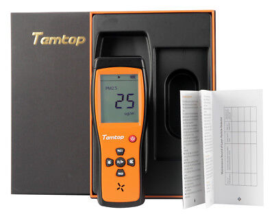 Temtop P200 Air Quality Formaldehyde Monitor Detector with PM2.5/PM10 3