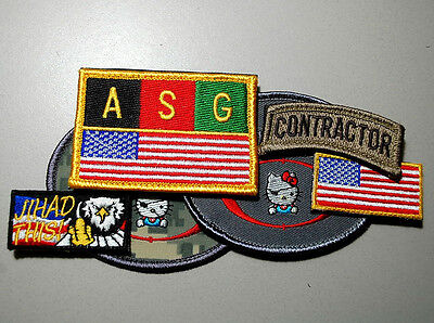 PRIVATE MILITARY CONTRACTOR PMC DIPLOMATIC SECURITY DDS IRAQ 2-Tab: item #2  + #5