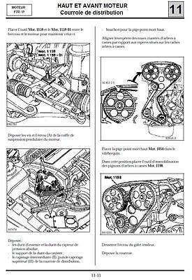 manuel atelier entretien technique réparation maintenance Renault Clio 1 - Fr 2