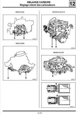 manuel atelier entretien technique réparation maintenance Renault Clio 1 - Fr 4