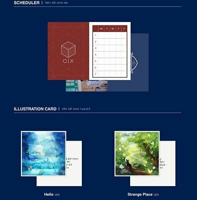 CIX 2nd EP ALBUM HELLO Chapter 2. Hello, Strange Place CD + FOLDED POSTER NEW 3