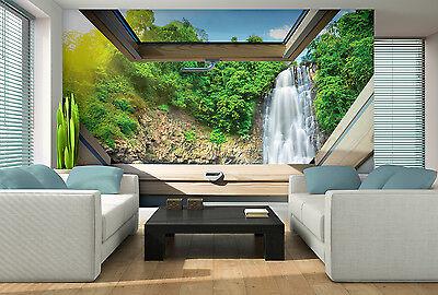 vlies fototapeten fototapete tapete wasserfall natur. Black Bedroom Furniture Sets. Home Design Ideas