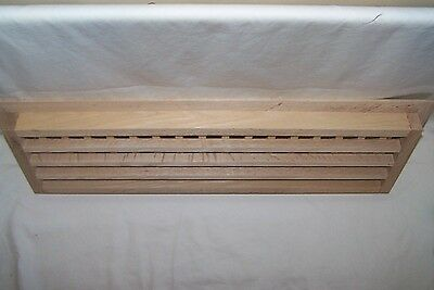 Made To Your Size Large Wood Floor Grate  Wall Register Floor Vent 2