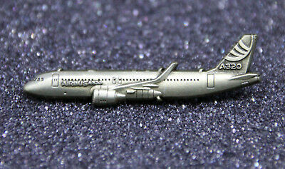 Pin Airbus A320 Sideview 40mm Pin Bronze for Pilots Crew