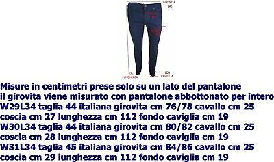 jeans energie da uomo elasticizzato slim fit vita bassa dritti nero lucido 44 46