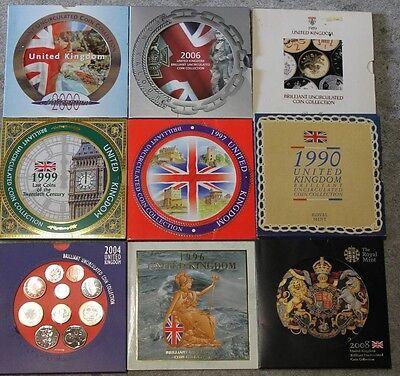 Royal Mint BU Brilliant Uncirculated Coin Year Set 1982 To 2017 BIRTHDAY , ANNIV 2