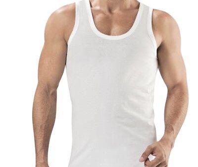 2 Mens Plain Vest Tank Top 100/% Combed Cotton Raftaar® Muscle Fitness Lot 1
