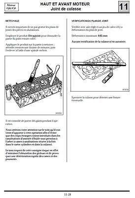 manuel atelier entretien technique réparation maintenance Renault Clio 1 - Fr 3