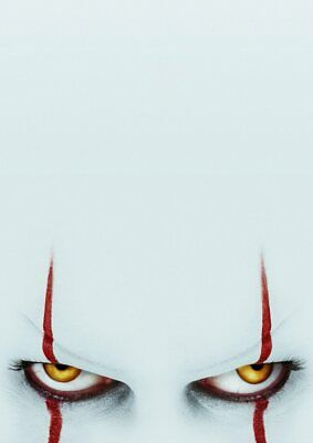 Stephen King: IT Chapter 2: Two Pennywise  A5 A4 A3 Textless Movie DVD Posters 3