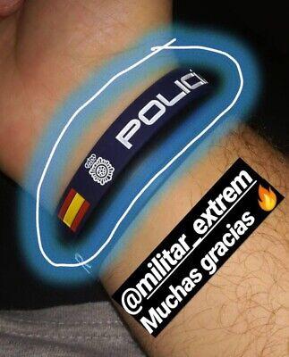 Pulseras De Silicona Militar, Policia, Guardia Civil, Legion 2