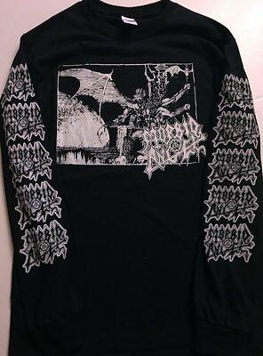 NECROPHAGIA SEASON OF THE DEAD/'87 DEATH POSSESSED MORBID ANGEL NEW BLACK T-SHIRT