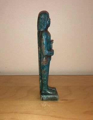 Egyptian Hard Stone Striding King Amenhotep II 3