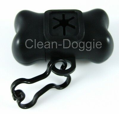 4 Bone-Shaped Doggie Poop Bag Dispensers+ 4 Rolls of Refill Bags FREE SHIPPING! 2