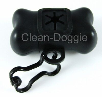 Bone-Shaped Doggie Poop Bag Dispenser + 3 Rolls of Refill Bags *FREE SHIPPING!* 2