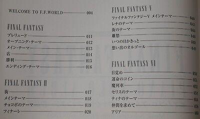 NEW Ukulele Solo Album Final Fantasy Sakuhinshuu With CD Score Book