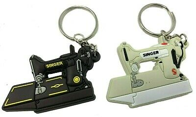 Singer Featherweight  221 Sewing Machine Keychain 2