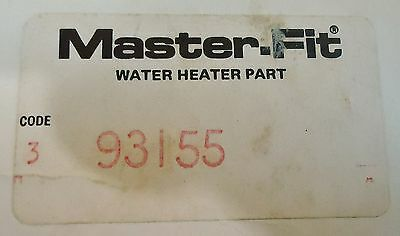 New Master-Fit Code 3 #93155 Weksler Water Heaterpart Super Ec Therm 153 Deg. F. 2