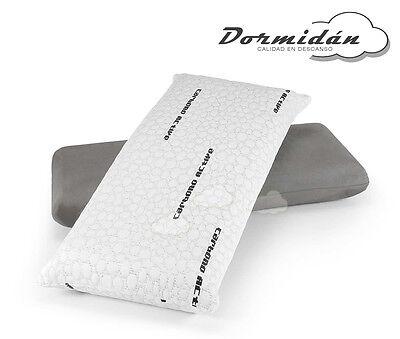 Almohada almohadas viscoelastica, copos 3D, fibra hueca, soja natural, carbono 6
