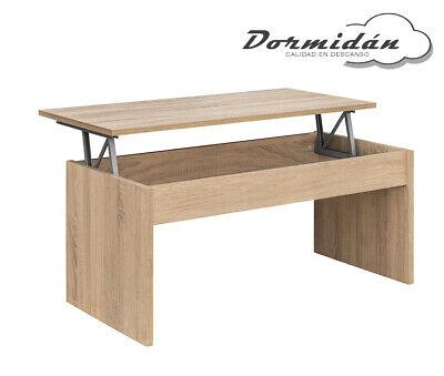 Mesa de centro elevable MC-5, salon / comedor, mayor grosor y estabilidad 3
