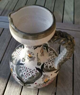 Apotheker - alte, wunderschöne, handbemalte Keramik - Kanne - Schick!!! 5