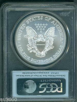 2002  American Silver Eagle ASE S$1 PCGS MS69 MS-69 FIRST STRIKE FS !!! 2