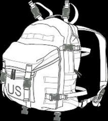 Us Military Army Acu Ucp Molle Ii Patrol Assault Pack 3-Day Mission Backpack Gc 6